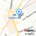 Бюро финансовых решений на карте Санкт-Петербурга
