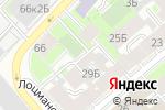 Схема проезда до компании Вера в Санкт-Петербурге