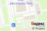 Схема проезда до компании Чайка в Санкт-Петербурге