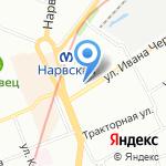 Эталон на карте Санкт-Петербурга