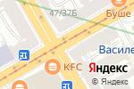 Схема проезда до компании КЕЙ в Санкт-Петербурге