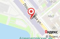 Схема проезда до компании Эко-Т в Санкт-Петербурге