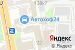 Схема проезда до компании Белрос ПТК в Санкт-Петербурге