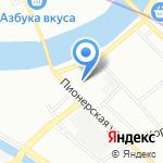 Газпром межрегионгаз на карте Санкт-Петербурга