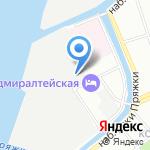 Альфа Эвакуатор на карте Санкт-Петербурга
