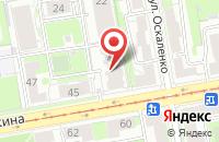 Схема проезда до компании Доверие в Астрахани