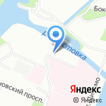 Академическая гимназия №56 на карте Санкт-Петербурга