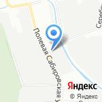 Подземстройреконструкция на карте Санкт-Петербурга