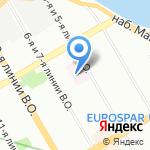 Городская наркологическая больница на карте Санкт-Петербурга