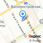 МедЛаб на карте Санкт-Петербурга