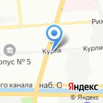 Тема на карте Санкт-Петербурга