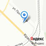 Детский сад №362 компенсирующего вида на карте Санкт-Петербурга