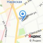 Модуль проект на карте Санкт-Петербурга