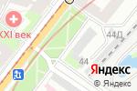Схема проезда до компании Балтийская мануфактура в Санкт-Петербурге