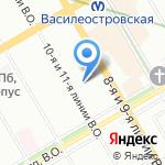 Балтийские Инженерные Коммуникации на карте Санкт-Петербурга