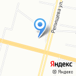 Акогаре на карте Санкт-Петербурга