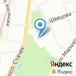 Городская страховая медицинская компания на карте Санкт-Петербурга