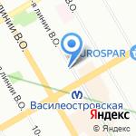 Альфа-банк на карте Санкт-Петербурга