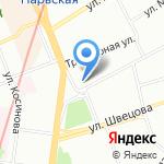 Стрекоза на карте Санкт-Петербурга