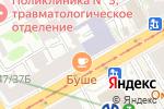 Схема проезда до компании БУШЕ в Санкт-Петербурге