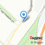 Славстрой на карте Санкт-Петербурга