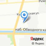 Ювента на карте Санкт-Петербурга