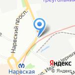 АРБИ на карте Санкт-Петербурга