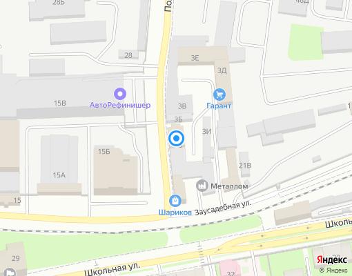 Управляющая компания «NWB-строй» на карте Санкт-Петербурга