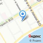 Управление навигации и океанографии на карте Санкт-Петербурга