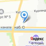 Рубль-Экспресс на карте Санкт-Петербурга
