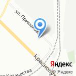 Юнес на карте Санкт-Петербурга