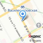 Инфобио на карте Санкт-Петербурга