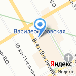 Нон-Стоп Лоджистикс на карте Санкт-Петербурга