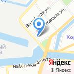 Берегсталь на карте Санкт-Петербурга