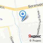 Ле-та на карте Санкт-Петербурга