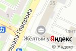 Схема проезда до компании Мебельные фасады и фурнитура Орбита в Санкт-Петербурге