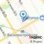 Чешский Дом на карте Санкт-Петербурга