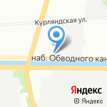 НОТИК на карте Санкт-Петербурга