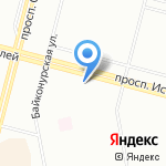 Инэк на карте Санкт-Петербурга