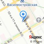 ТриКотаЖ на карте Санкт-Петербурга