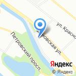 Институт прикладной астрономии РАН на карте Санкт-Петербурга