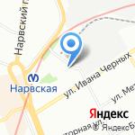 Лаборатория экологического нормирования и мониторинга на карте Санкт-Петербурга