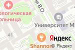 Схема проезда до компании ЮГ ЮрЛайн в Санкт-Петербурге