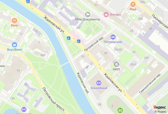 жилой комплекс Дом на Ждановке