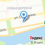 Психоневрологический дом ребенка №9 на карте Санкт-Петербурга