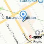 Tupperware на карте Санкт-Петербурга