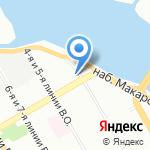 Все Соки на карте Санкт-Петербурга