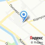 Микротехника на карте Санкт-Петербурга