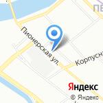Сеть платежных терминалов на карте Санкт-Петербурга