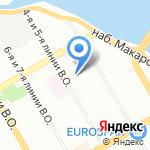 Электрон на карте Санкт-Петербурга